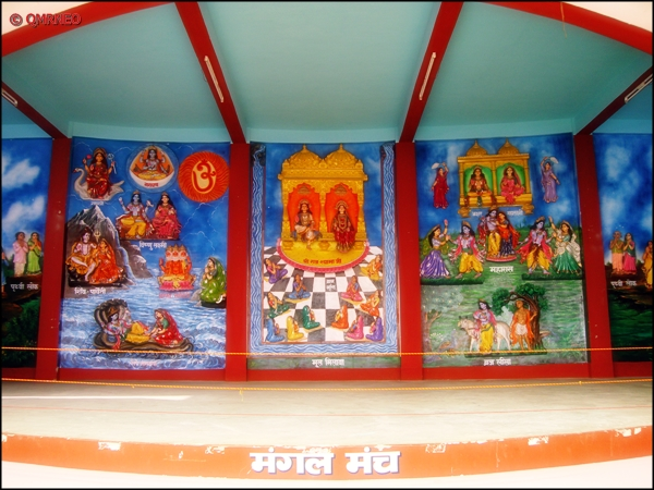 Mangal manch, Pranami Temple Kalimpong mntravelog