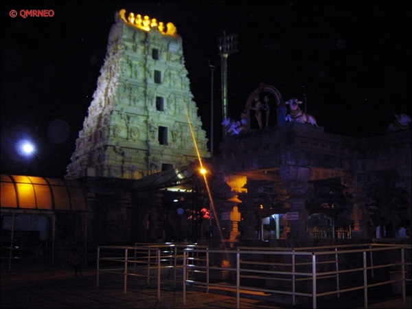 Srisailam Temple inside entrance mntravelog