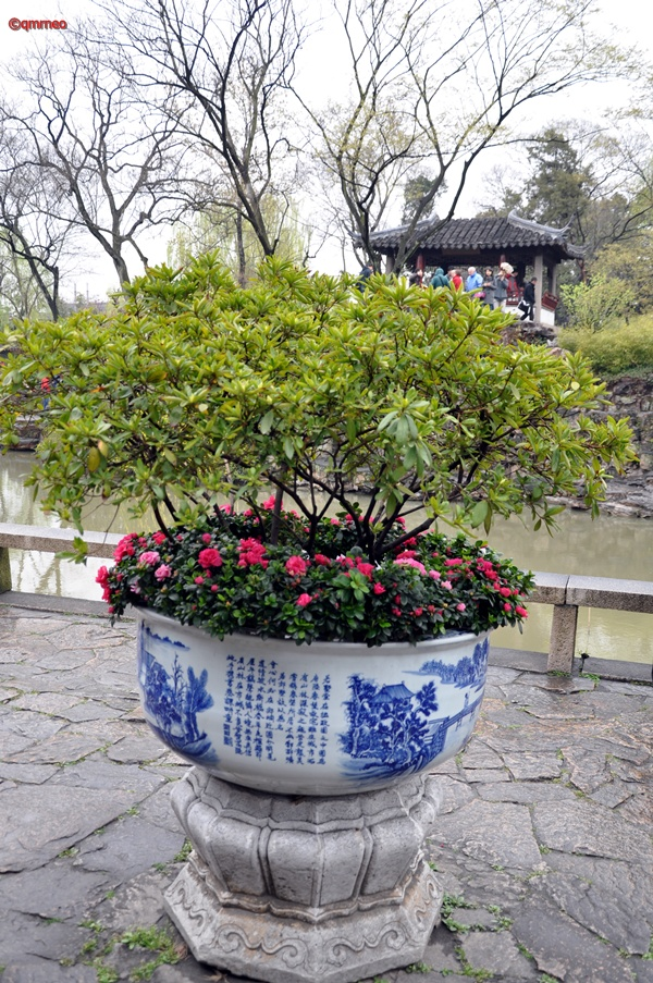 Chinese traditional vase Suzhou China mntravelog