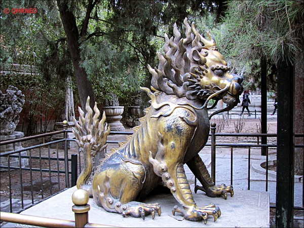 Nice Statue The Forbidden City Beijing China MN Travelogue