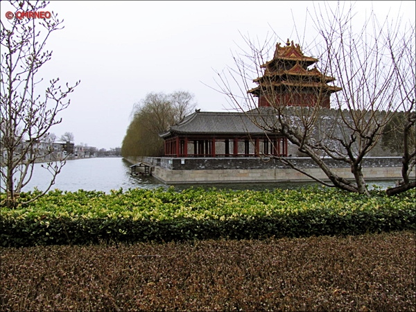 The Golder River at exit gate The Forbidden City Beijing China MN Travelogue