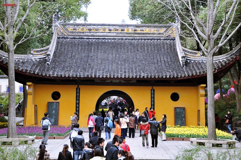 Tiger Entrance Tiger Hill Suzhou Jiangsu China mntravelog