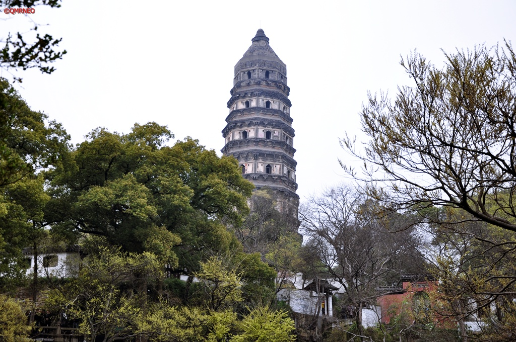 Pagoda  Tiger Hill Suzhou Jiangsu China mntravelog