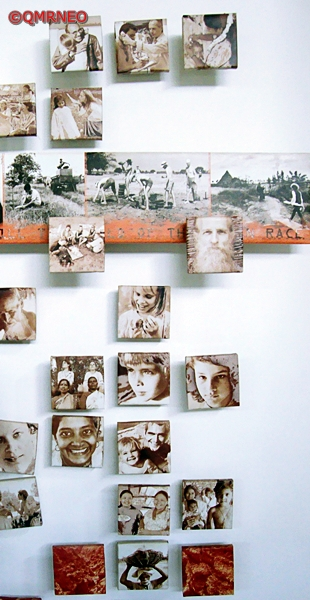 MN Travelog, Picture wall in Auroville, Puducherry, India
