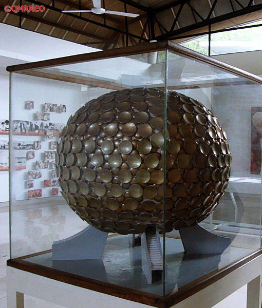 MN Travelog, Mantrimandir model, Exhibition Hall, Auroville, Puducherry, India