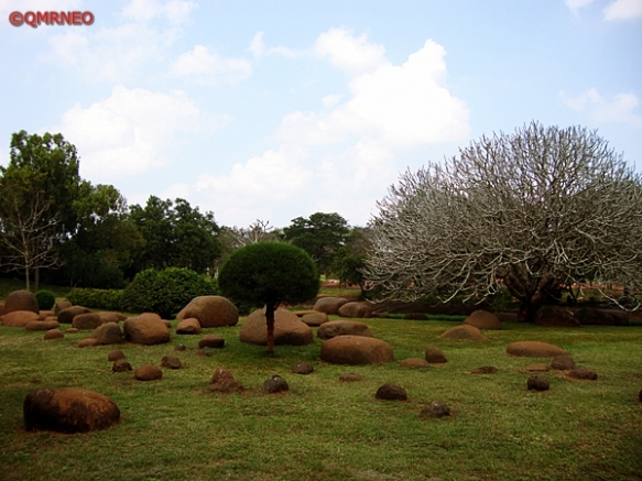 MN Travelog, Garden around Matrimandir Viewing Point, Auroville, Puducherry, India