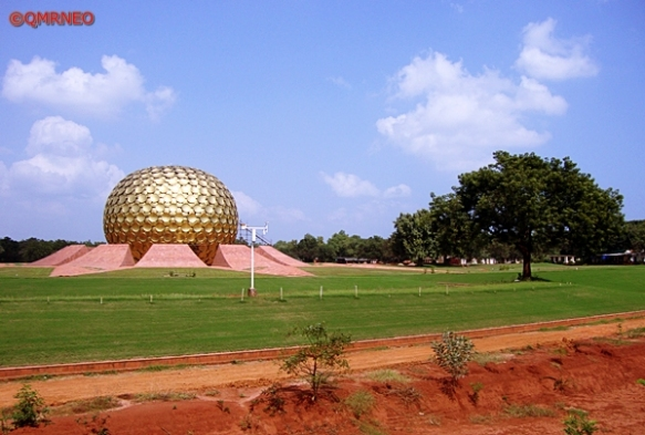 MN Travelog, Matrimandir Viewing Point, Auroville, Puducherry, India