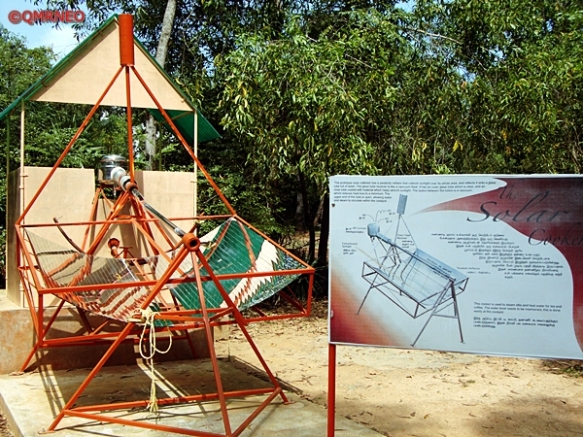 MN Travelog, The Solar Cooker, Auroville, Puducherry, India