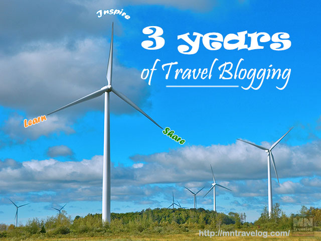 3 years of Travel Blogging - Lessons Learned