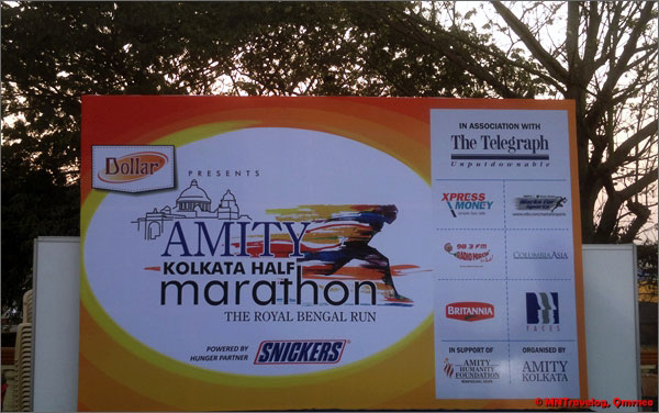 Amity Kolkata Half marathon mntravelog