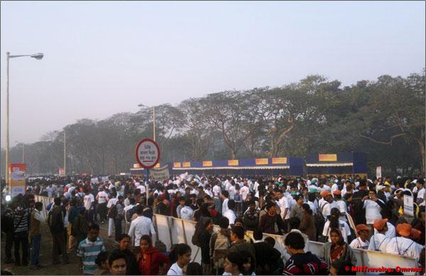 Amity Kolkata Half marathon participants mntravelog