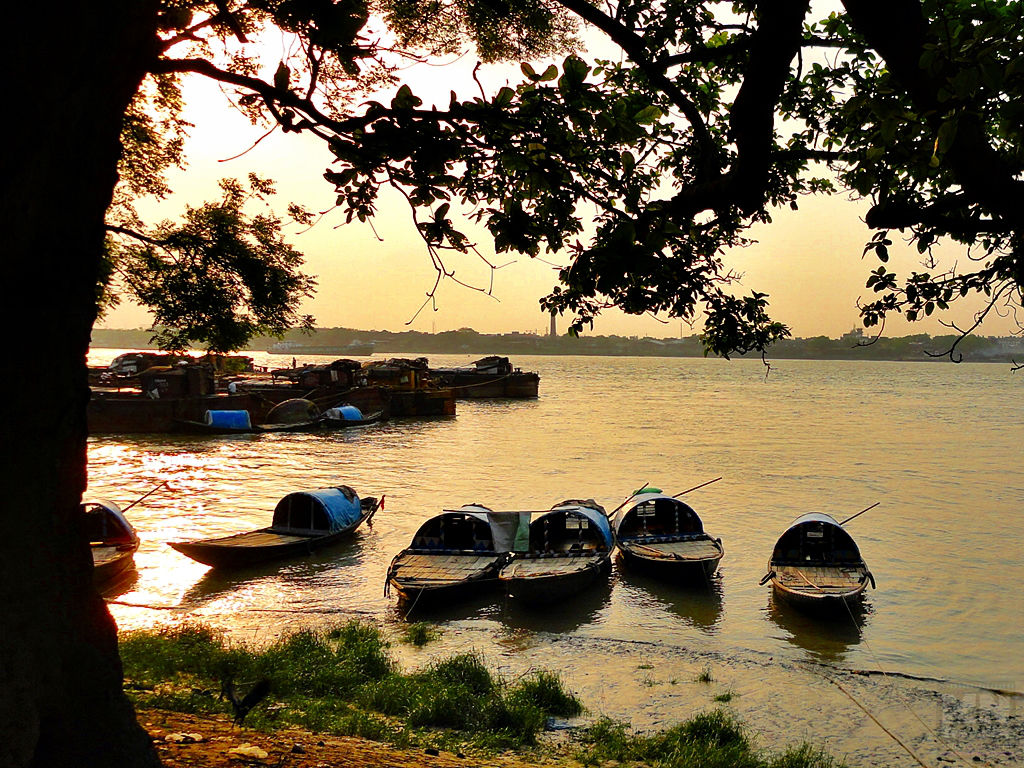 Babughat‎ Kolkata Riverfront, West Bengal India