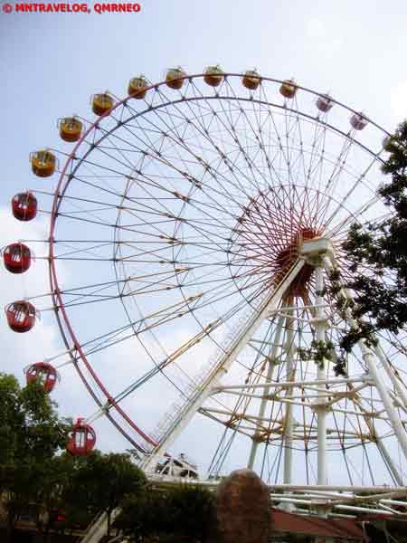 Gaint Wheel at SWAP, Shanghai Wild Animal park MNTravelog
