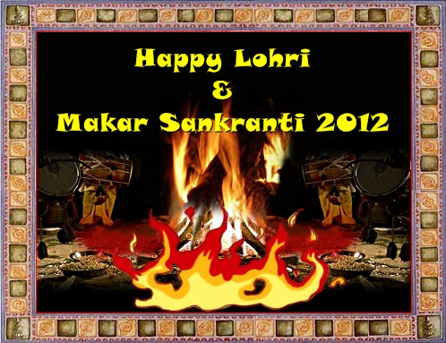Happy Lohri Makar Sankranti 2012 MNTravelog