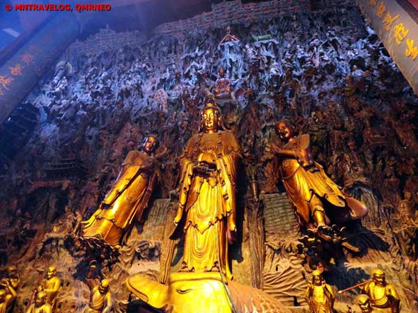 Scenic area of Lingyin, Buddha Temple, Mntravelog
