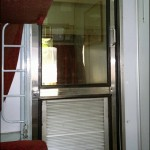 Sealdah Rajdhani Express First Class AC cabin door MNTravelog