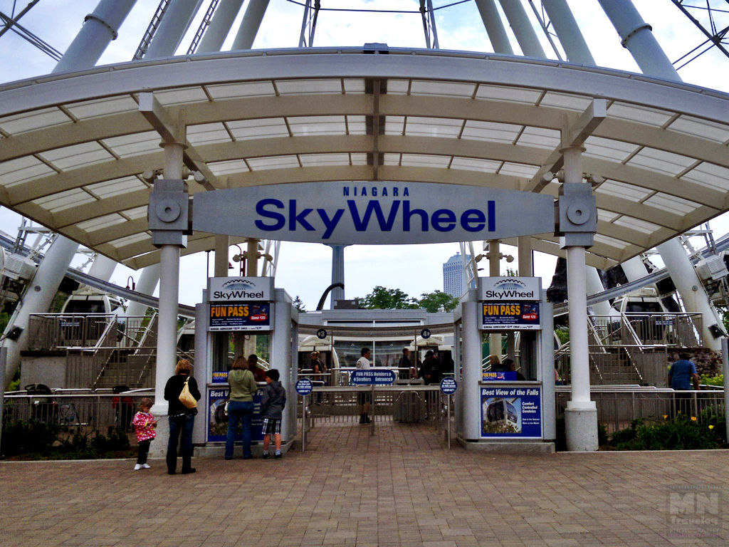 The Niagara SkyWheel Entrance MNTravelog
