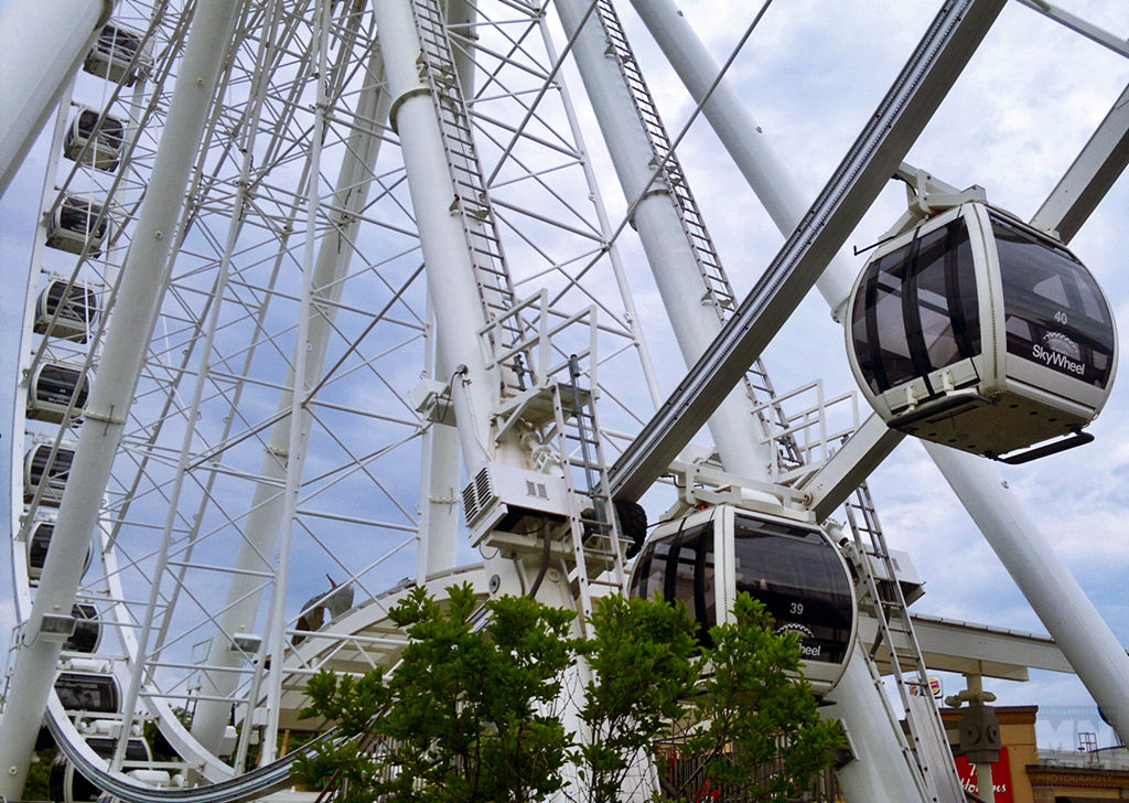 The Niagara SkyWheel enclosed gondolas MNTravelog