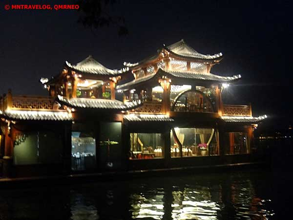 West lake cruise during night,Hangzhou, Zhejiang China MNTravelog
