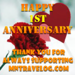 MNTravelog anniversary